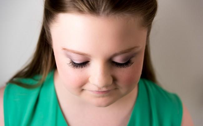 Sarafina Ardani Make Up Makeup Artist Basingstoke Hampshire Teenage Eye Shadow
